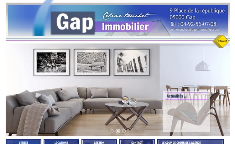 Agence immobilière Gap immo